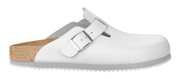 Boston Sl White Leather