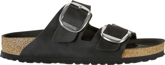 Birkenstock Arizona Big Buckle Black Oiled Leather