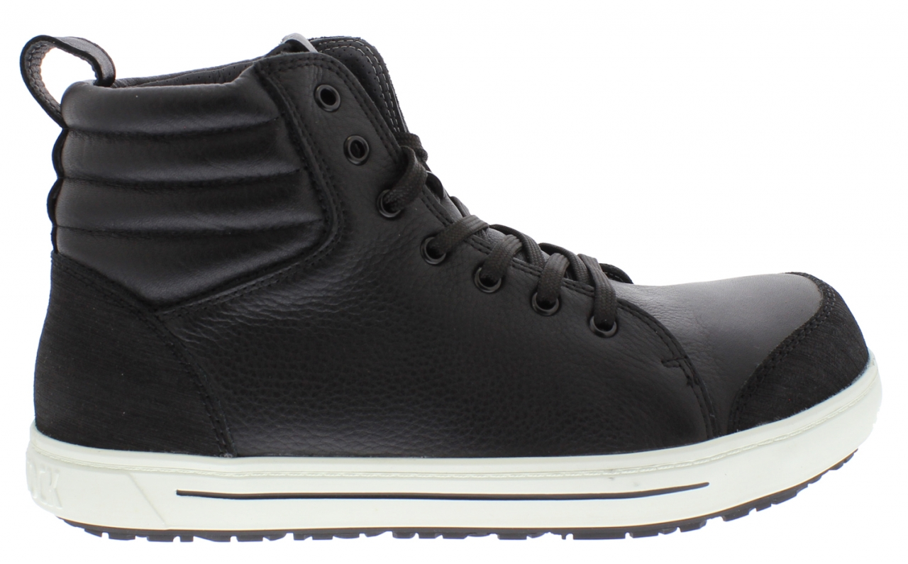 QS 700 BLACK REGULAR NATURAL LEATHER STEEL TOECAP