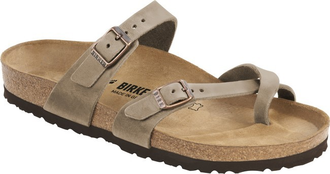Birkenstock Mayari Tabacco Brown Oiled Leather