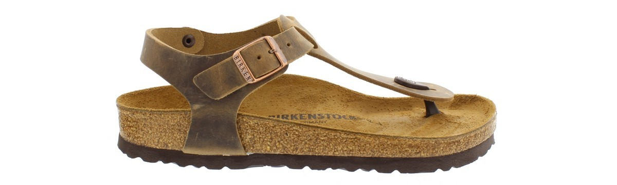 Birkenstock Kairo Tabacco Brown Greased Leather