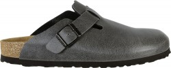 Birkenstock Boston Pull Up Anthracite Vegan