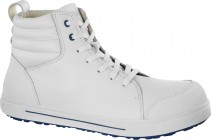 QS 700 White regular Natural Leather Safety