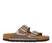 Birkenstock Arizona Electric Metallic Taupe